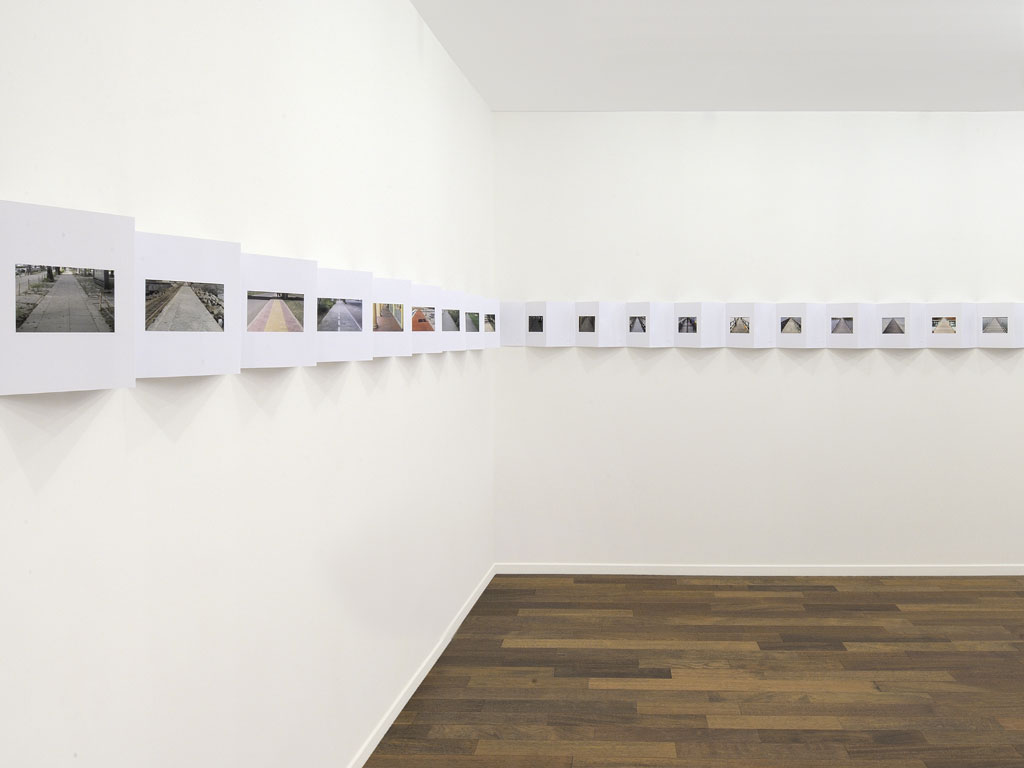 Claude Closky, 'Inside a Triangle', MFC-Michèle Didier, Paris. 10 September - 7 October 2011.